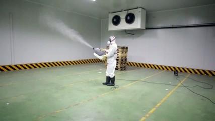 desinfeccion camara frigorifica