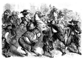 Riot - Émeute - Meuterei - 18th century