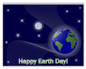 Earth's Day card.