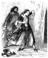 Pair - Surprised or Dancing - 18th century