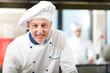 Chef portrait in the kitchen