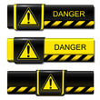 Exclamation, danger buttons, banners
