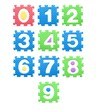 Colored numbers for children, kid's puzzles