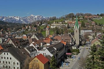 Feldkirch von oben