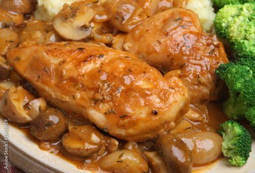 Chicken Chasseur Dinner