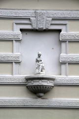 Hausdetail in Detmold