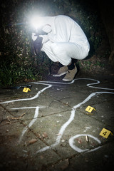 Crime scene photographer