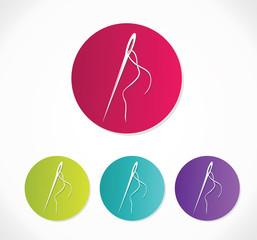 Needle icons