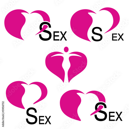 heart icons - sex symbols