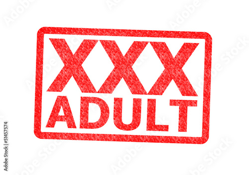 XXX Adult Rubber Stamp