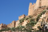 Alcazaba in Almeria, Spain