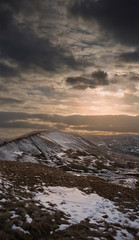 Mam Tor hill / Mountain, Peak District National Park
