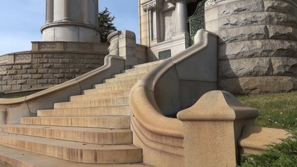 Mausoleum Stairs at Oakland Cemetery