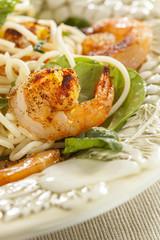 Homemade Lemon and Shrimp Pasta