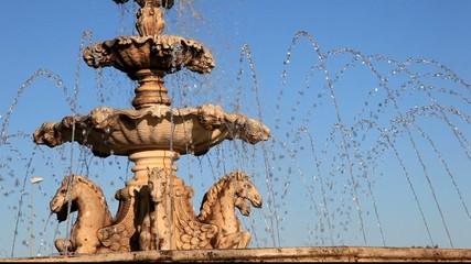 Fountain in Andalusia Spain