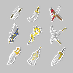 Creative sword collection set