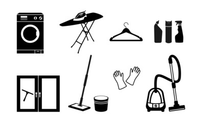 All for cleaning. Vector icon