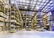 Leinwandbild Motiv New and modern warehouse