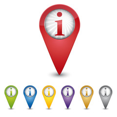 Map Pin - Information - Helpdesk