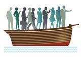 Geschäfts-Boot