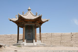 jia yu guan ancient silk road fort chinese great wall gansu prov