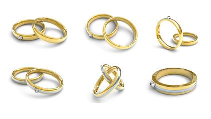 Ringe, Schmuck, Konzept Heiraten