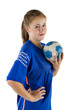 Handball Spielerin
