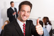 motivierter seminarteilnehmer