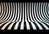 Fototapety Striped studio backdrop, empty space for your text or object