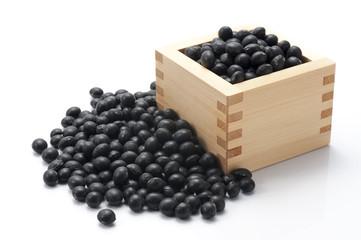 升にはいった黒豆