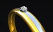 Ring mit Diamant