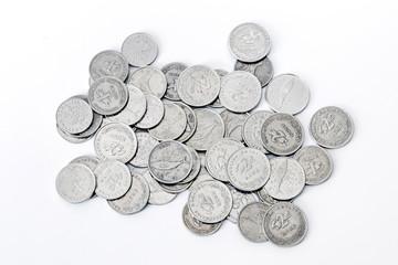 Croatian coins banknote