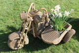 wicker sidecar