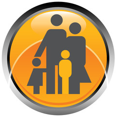 Famiglia icona logo