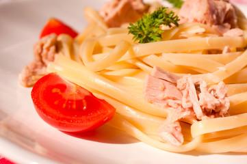 Close up spaghettie