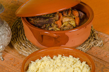 Couscous closeup