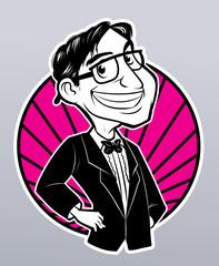 nerd man