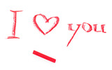 I Love You words
