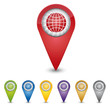 Map Pin - Globus - World Wide Web