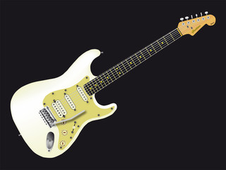 Solid Electric Guitar