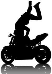 Exercise of bike