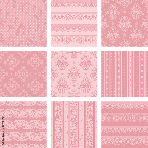 Vector Scrapbook set