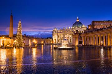 Basilica di San Pietro e riflessi