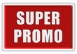 Glassy Button rot eckig SUPER PROMO