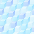Abstract seamless pattern of cubes.