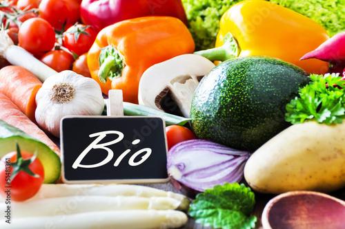 Poster Bio - Gemüse