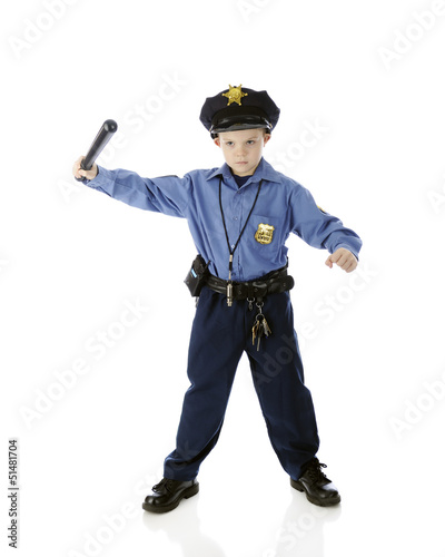 Little Billy Club Cop