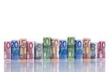 Fototapeta Notatka - Stopień - Pieniądze / Banknoty / Karta Kredytowa