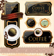 Coffee design templates. Vector illustration