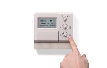 Heizkosten sparen // Thermostat